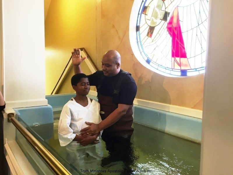 Baptism is for Young Men