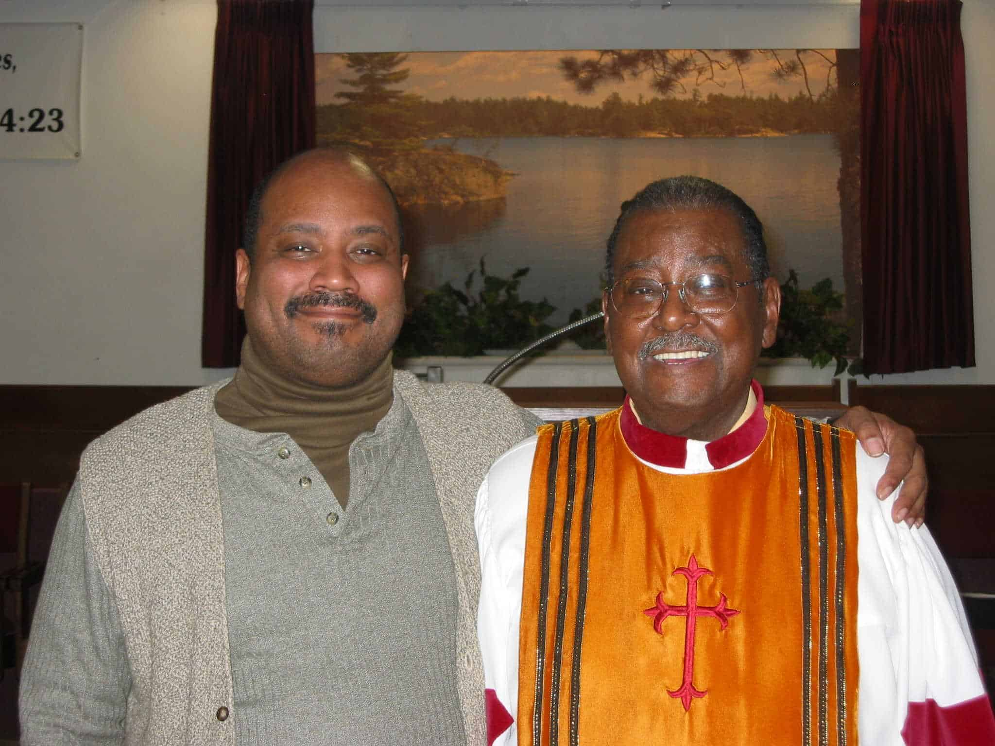 Pastor Kevin and Suff. Bishop Hobart L. Gregg