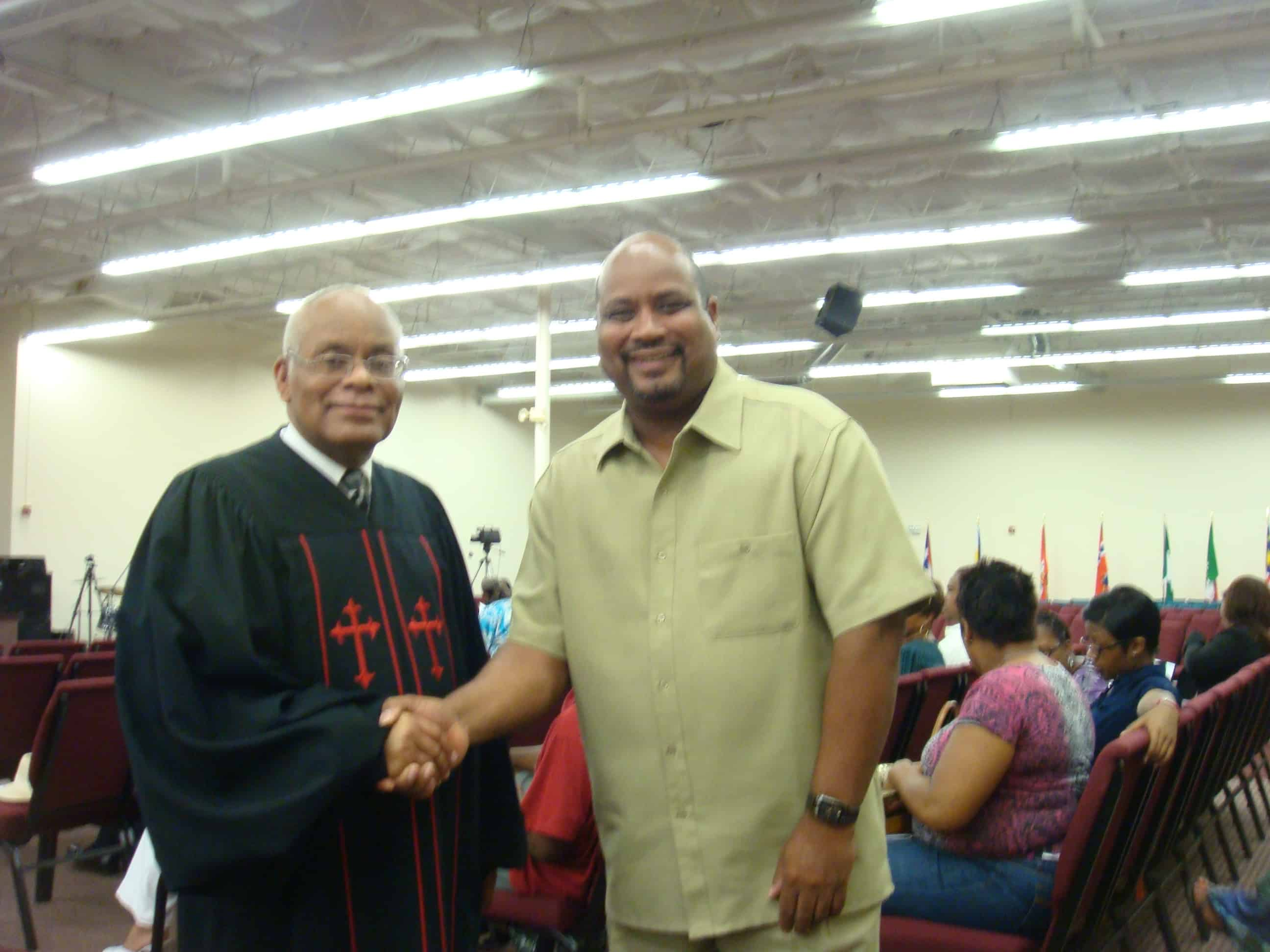 Bishop Bryon Johnson- Ordination Class 2009