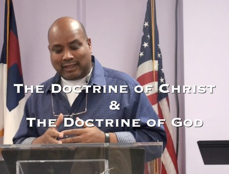 (Part 3) The Doctrine Of Christ